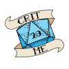 D20 and banner image Crit Me slogan