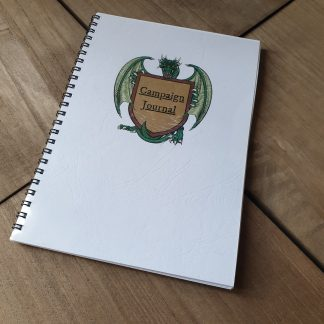 Pathfinder 2e campaign journal notebook